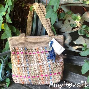 The Sak Amberly Crochet Bag